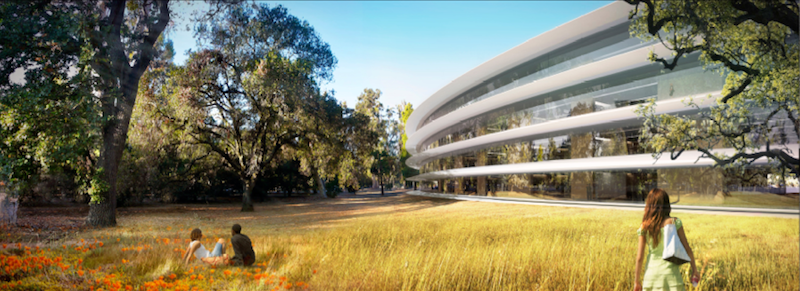 Apple campus rendering