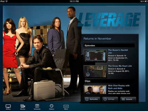 NBC iPad app