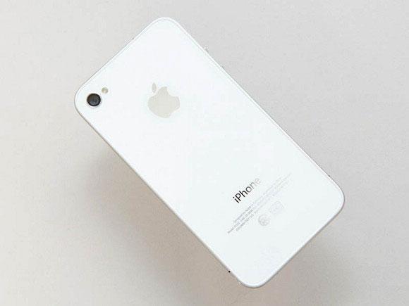 White iPhone 4 3