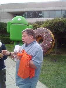 Steve Wozniak at Google