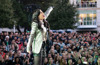 Apple rings in holidays with Beer Bash featuring Idina Menzel, Toys for Tots drive