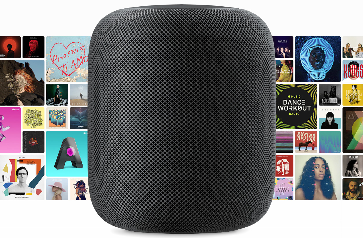 Apple's HomePod is a smart speaker with great sound