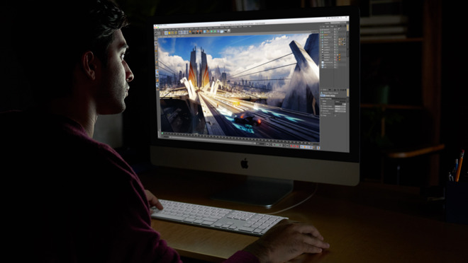 All of the pro desktop power in the compact iMac body