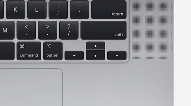 """The inverted """"T"""" arrow keys also make a welcome return"""