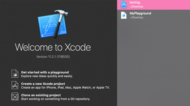 Swift Playgrounds bundled with XCode 11