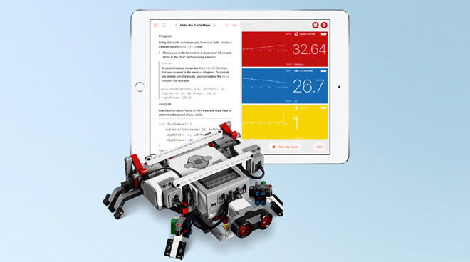 Swift Playgrounds and the Lego Mindstorms EV3