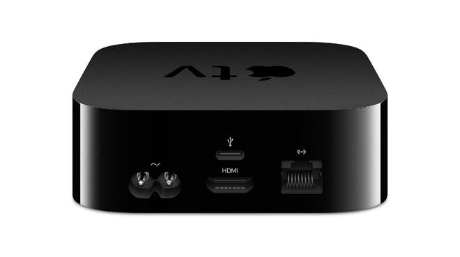 The Apple TV HD had an extra USB-C port for diagnostics