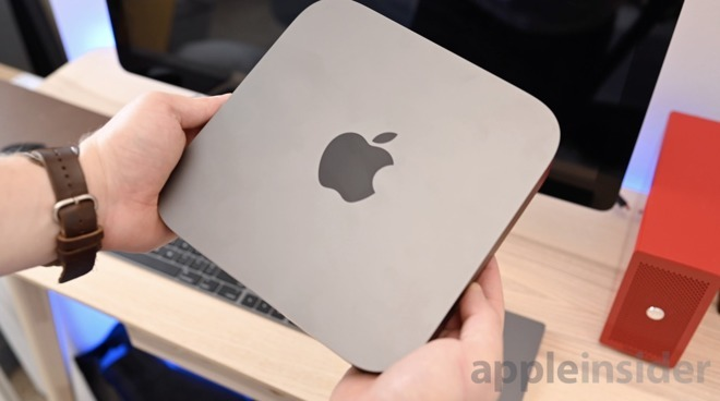The Mac mini is made from 100% recycled aluminum