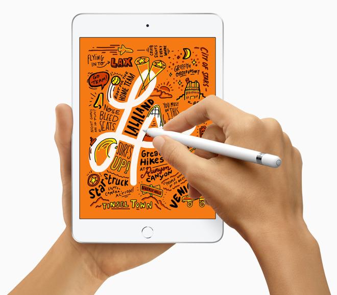 iPad mini 5 gains Apple Pencil support