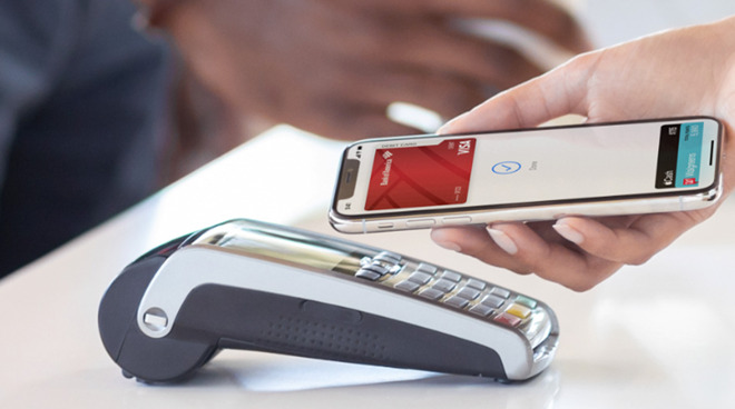 Apple Pay is much faster than traditional