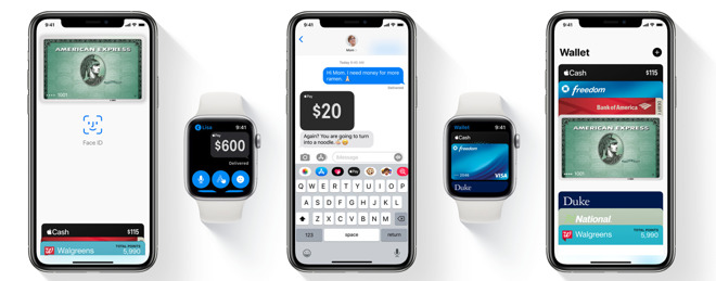 Apple Pay is used across many Apple services and devices