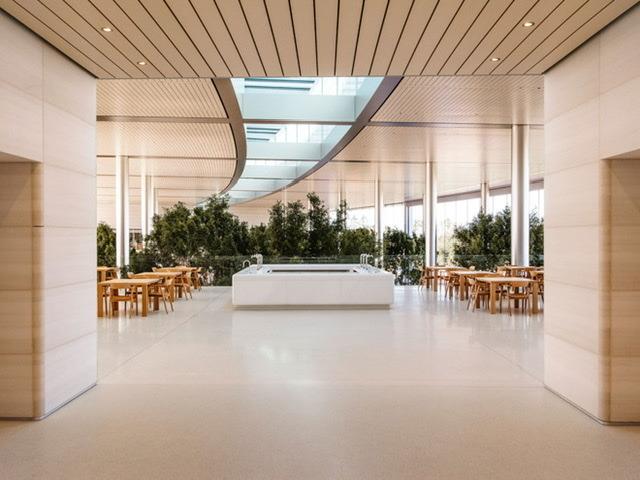 Single central hallway