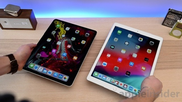 The slimmed down design of the 12.9-inch iPad Pro greatly changes its physical footprint