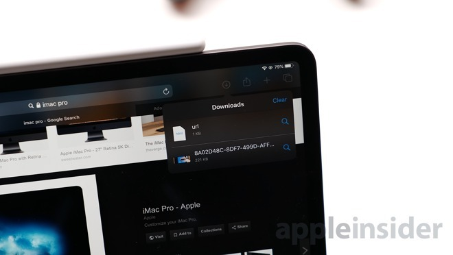 Download files to the Files app from Safari