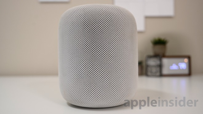 Apple's HomePod lets you control your home via Siri.