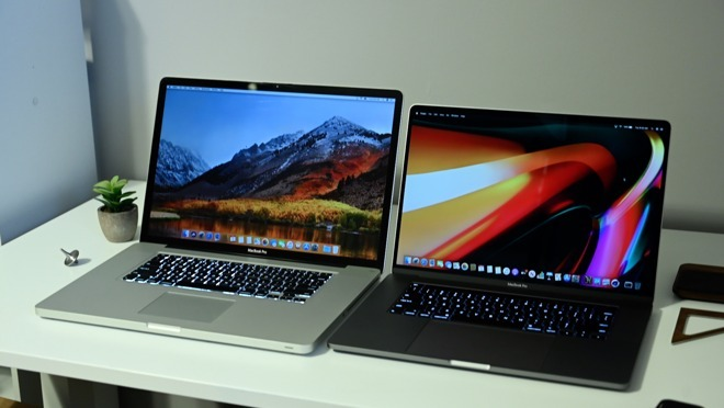 A decade in MacBook Pro: 2009 17-inch and 2019 16-inch