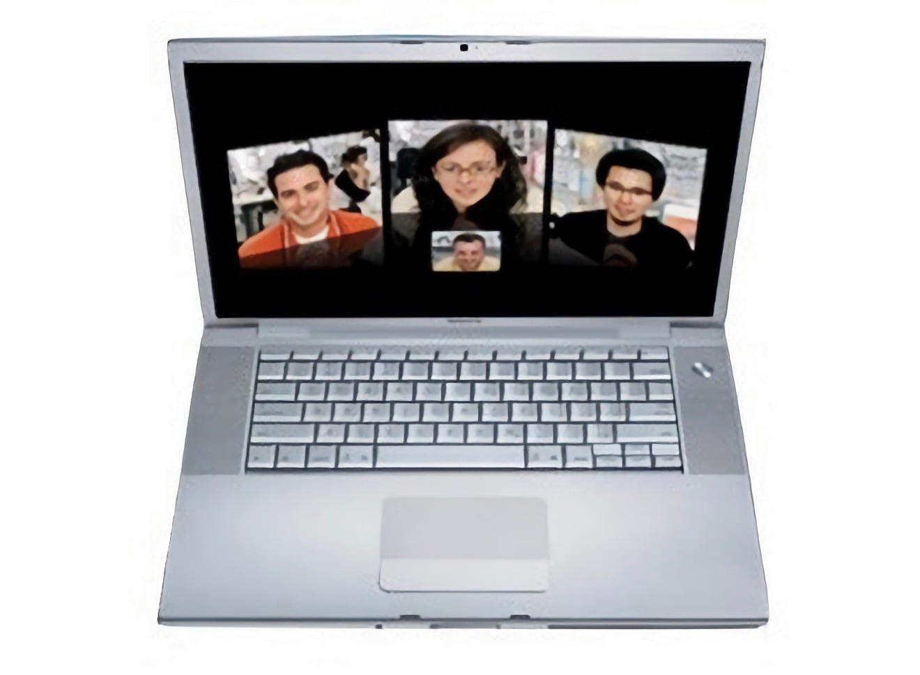 Featured a nearly identical design to the PowerBook G4.