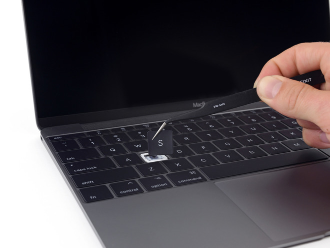 iFixit teardowns show that each update to the keyboard did little to help.