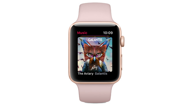Apple Watch Series 3 Pink Sand band
