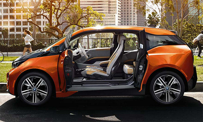 BMW i3 commuter car