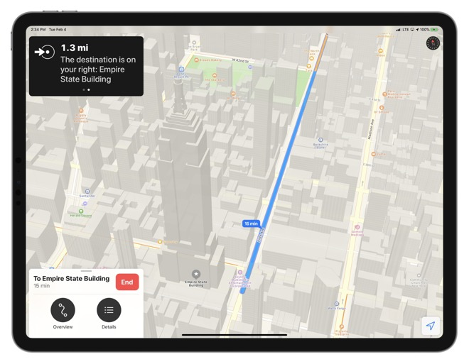 No need to worry about your destinations being sourced for ads, Apple Maps is totally private