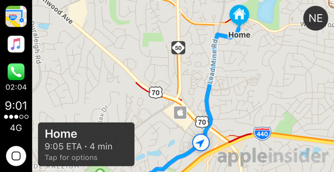 CarPlay lets you navigate and control media while driving