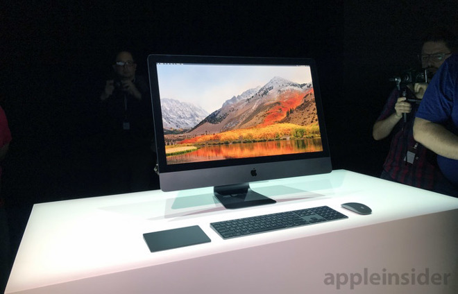 The iMac Pro is the peak of all-in-one design