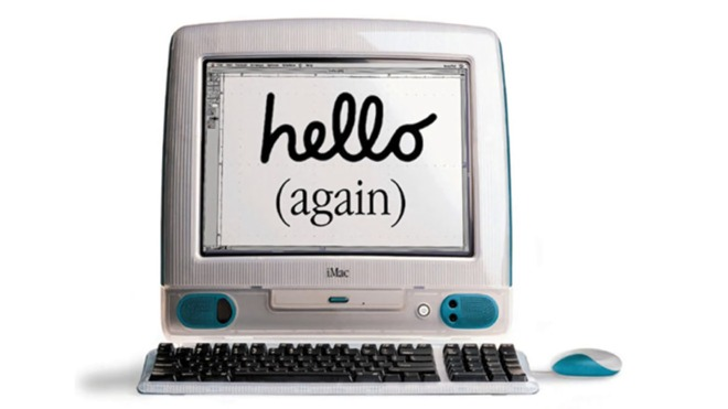 The iMac G3 and its friendly presentation became a blockbuster hit