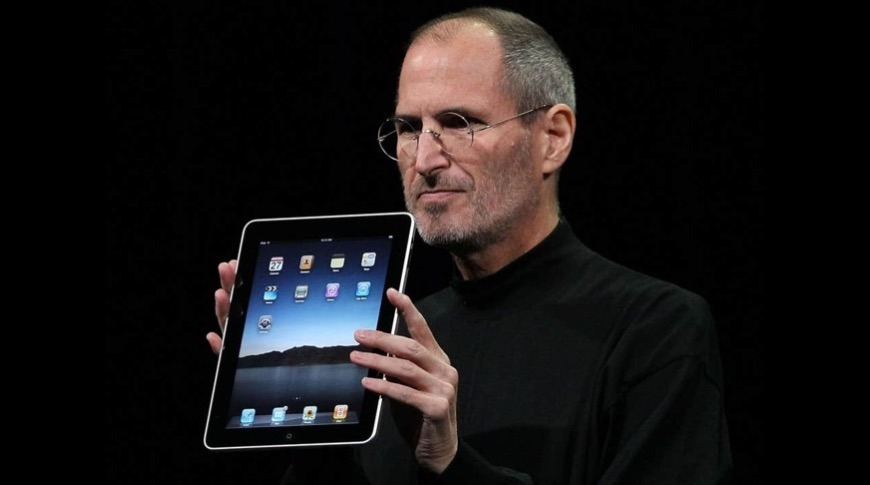 Steve Jobs' vision of the future of computing; the iPad