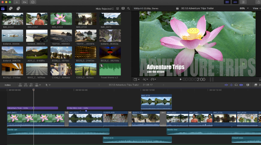 Pro video editing software