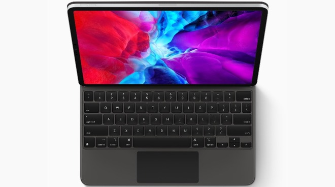 The iPad Pro and Magic Keyboard make for a compelling looking laptop