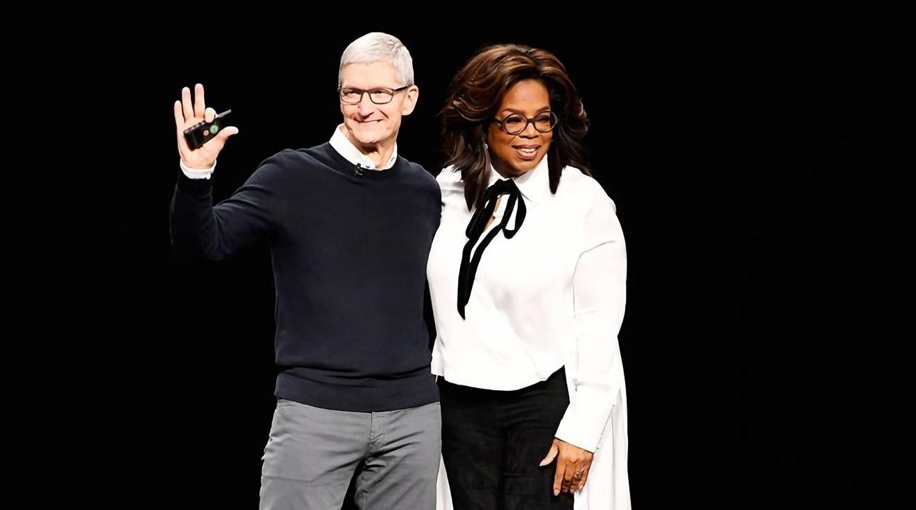 Tim Cook and Oprah