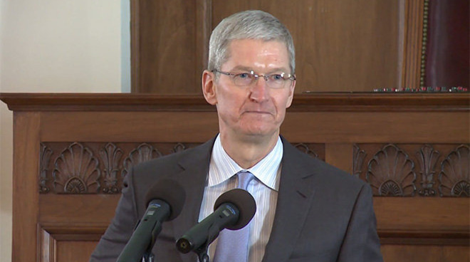 Apple CEO Tim Cook wants to take the DOJ to task on encryption