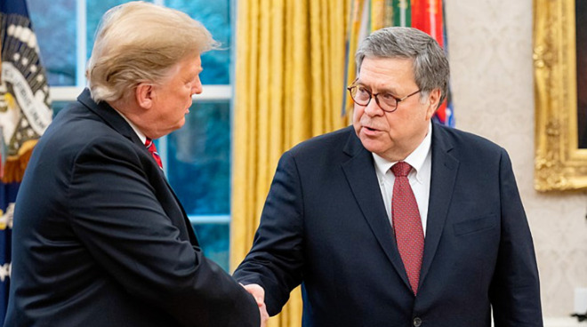 President Donald Trump and Attorney General William Barr agree that encryption should be bypassed for the good guys