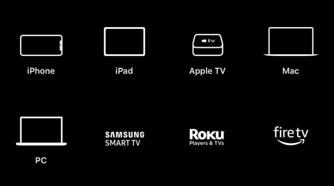 Devices that support Apple TV+