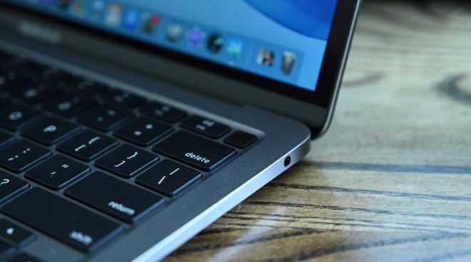 The 2020 MacBook Air still has a headphone jack, which is still useful for audio professionals
