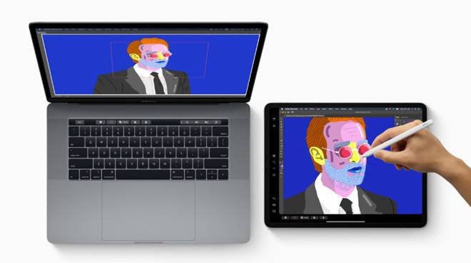 SideCar will let you extend a Mac desktop onto your iPad running iPadOS
