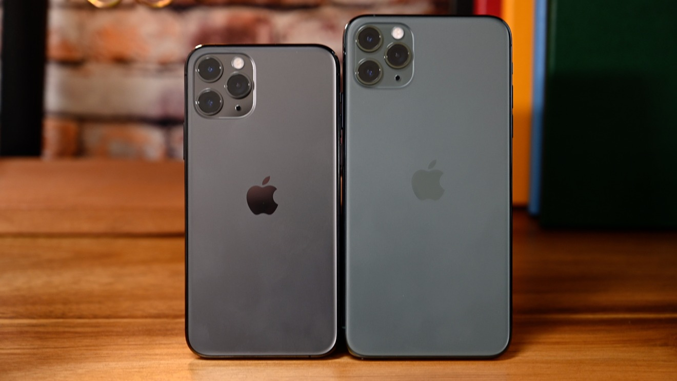 The iPhone 11 Pro and iPhone 11 Pro Max