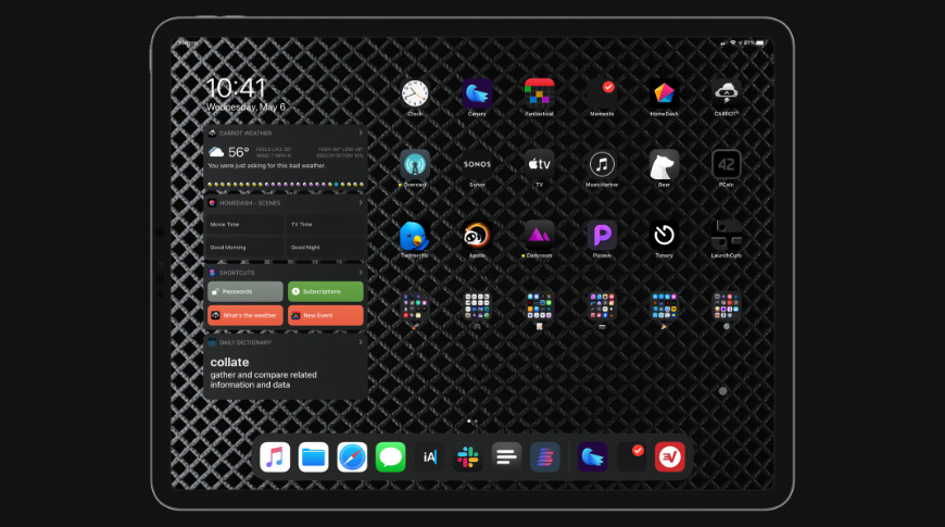 iPadOS brings many new functions and a new home screen design