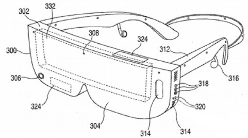 """Patent for """"Apple Glass"""""""
