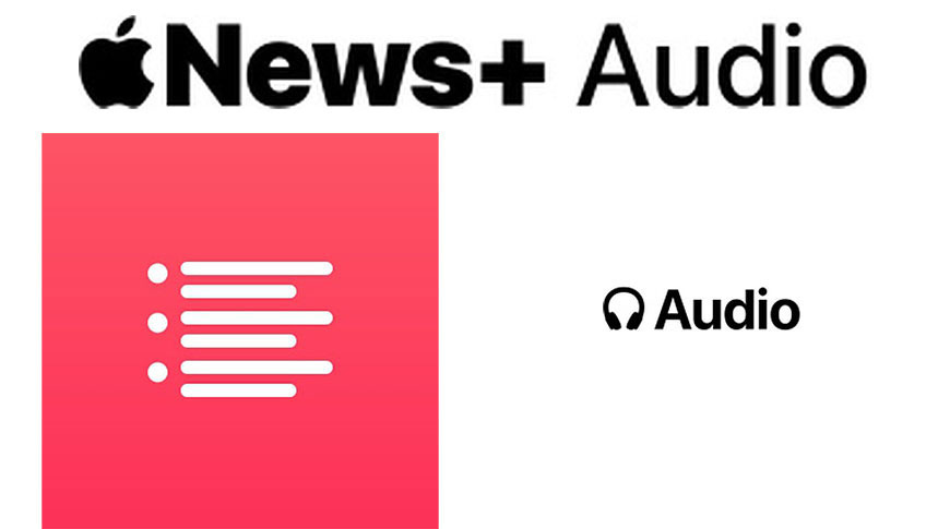 News+ Audio iconography