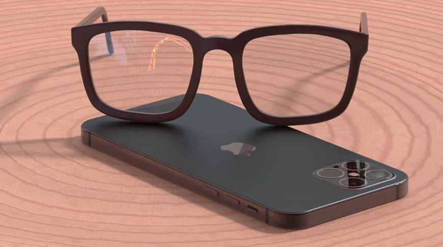 """Apple Glass"" render"