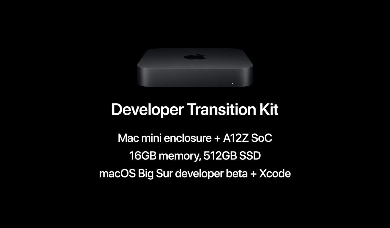 Apple's Developer Transition Kit features an A12Z in a Mac mini enclosure