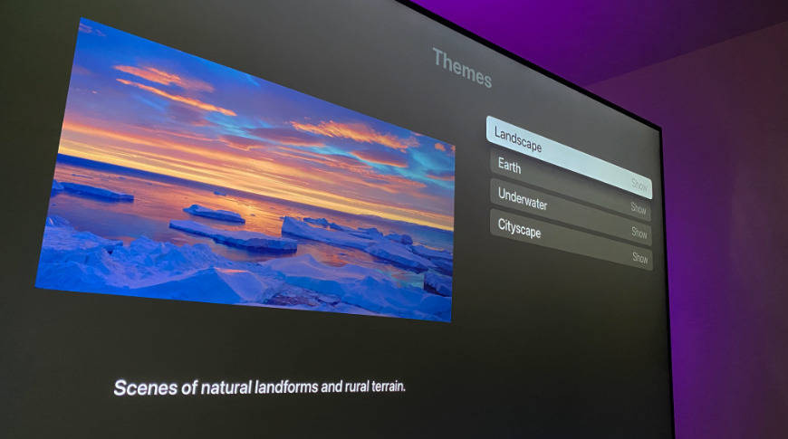 Choose which Aerial screensavers show up in settings