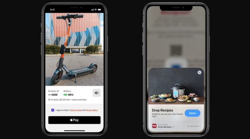 App Clips will let users interact with parts of an app without a full App Store download