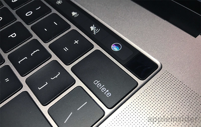 MacBook with Touch ID
