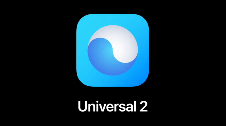 Apple's new Universal 2 file format