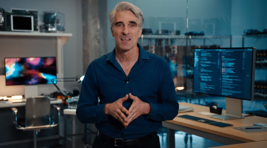 Craig Federighi talks about Rosetta 2