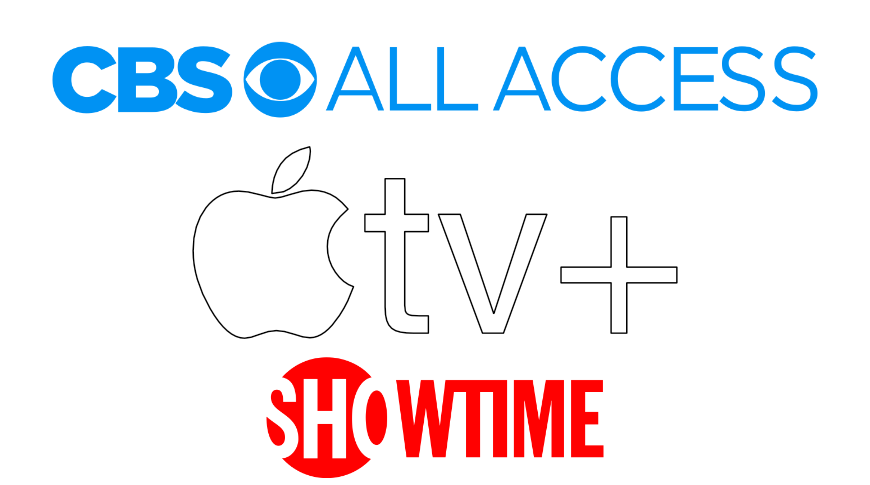 Apple TV+, CBS All Access, and Showtime for $9.99 per month