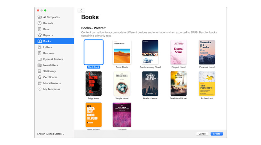 Pages now serves as Apple's eBook-creating tool for authors